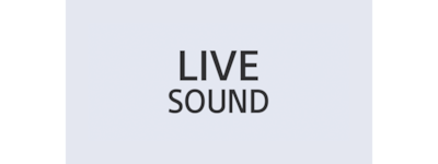 Logo for LIVE SOUND