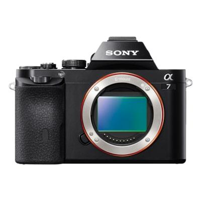 Billede af α7 E-mount-kamera med fuldformatsensor