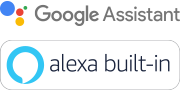 Google Assistant- og Amazon Alexa-logo