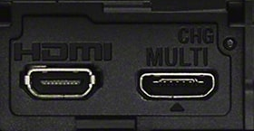 HDMI og multiterminal