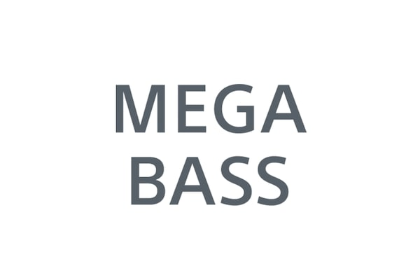 Ikon for MEGA BASS-logoet.