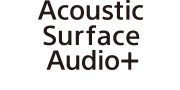 Logo for Acoustic Surface Audio+