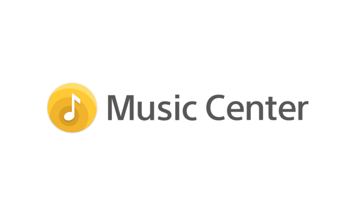 Logo for Sony | Music Center.