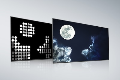 Sony Full Array LED med X-tended Dynamic Range PRO-bagpanel og -skærm