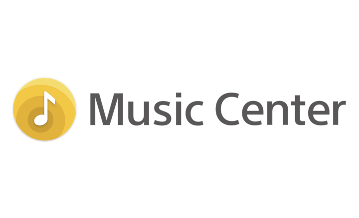 Logo for Sony | Music Center