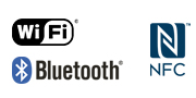 WiFi NFC Bluetooth-logo