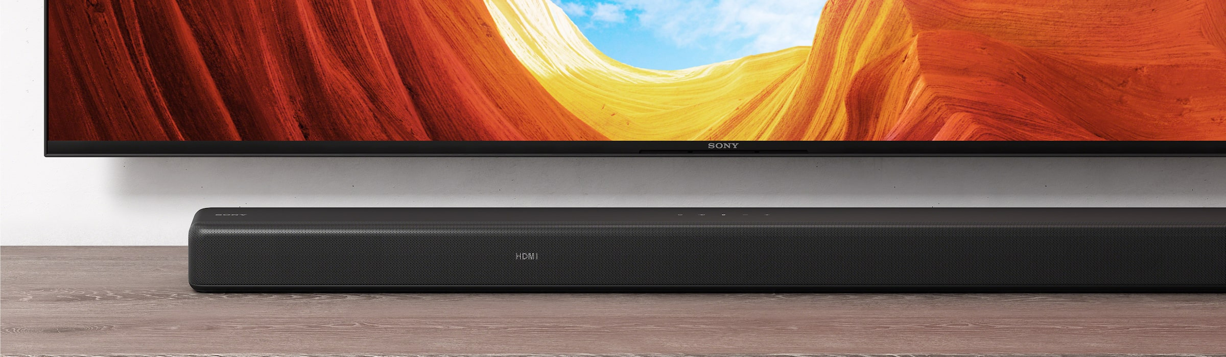 HT-G700-soundbar med Sony Bravia-TV